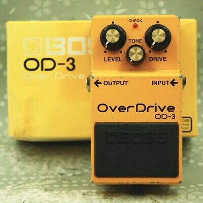 BOSS OD-3 Over Drive With original box Guitar effect pedal (N0F1272)