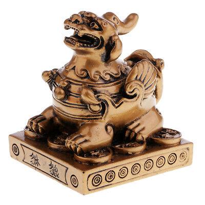 Feng Shui Pi Xiu Wealth Statue Figurine Housewarming Congratulatory Gift #2
