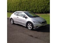 2010 HONDA CIVIC 1.4 TYPE S, 3 DOOR, FULL MOT