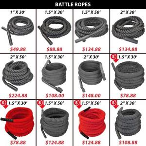 Battling | Woven | Endurance | Uncovered | Ropes | Nylon | Covered | Rope | Crossfit | Battle