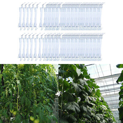 100xGarden Tomato Hook, Plant Growth Traction Rope Hook Vine Vegetable Planting