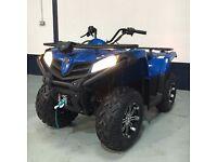New ROAD LEGAL QUAD BIKE - QUADZILLA 450S - Blue - 12 Months Warranty