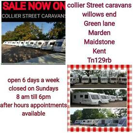2,4,5,6,berth fixedbed caravans from £2999 Maidstone Kent