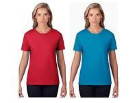 NEW LADIES T-Shirts (red, white, grey, light blue)