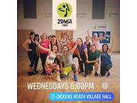 ZUMBA Fitness - latin-based dance inspired fitness classes in Dickens Heath and Sheldon
