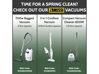 Range of New Vacuum Cleaners / Hoovers - Zanussi, Henry, Hetty etc.