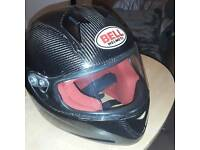 BELL carbon fibre Helmet medium.