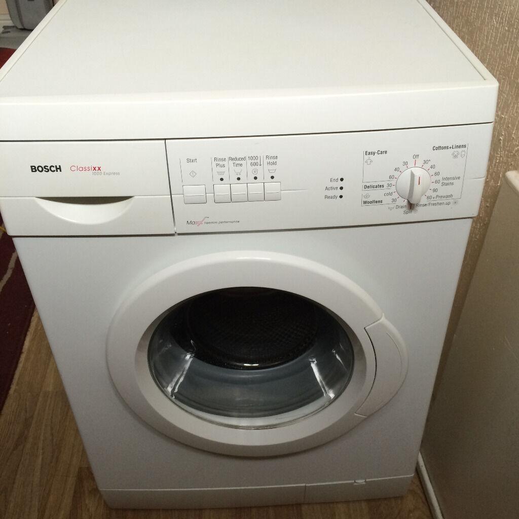 Bosch Classixx Washing Machine Instructions