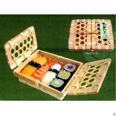 SUSHI Candle with Basket (Made in Japan)