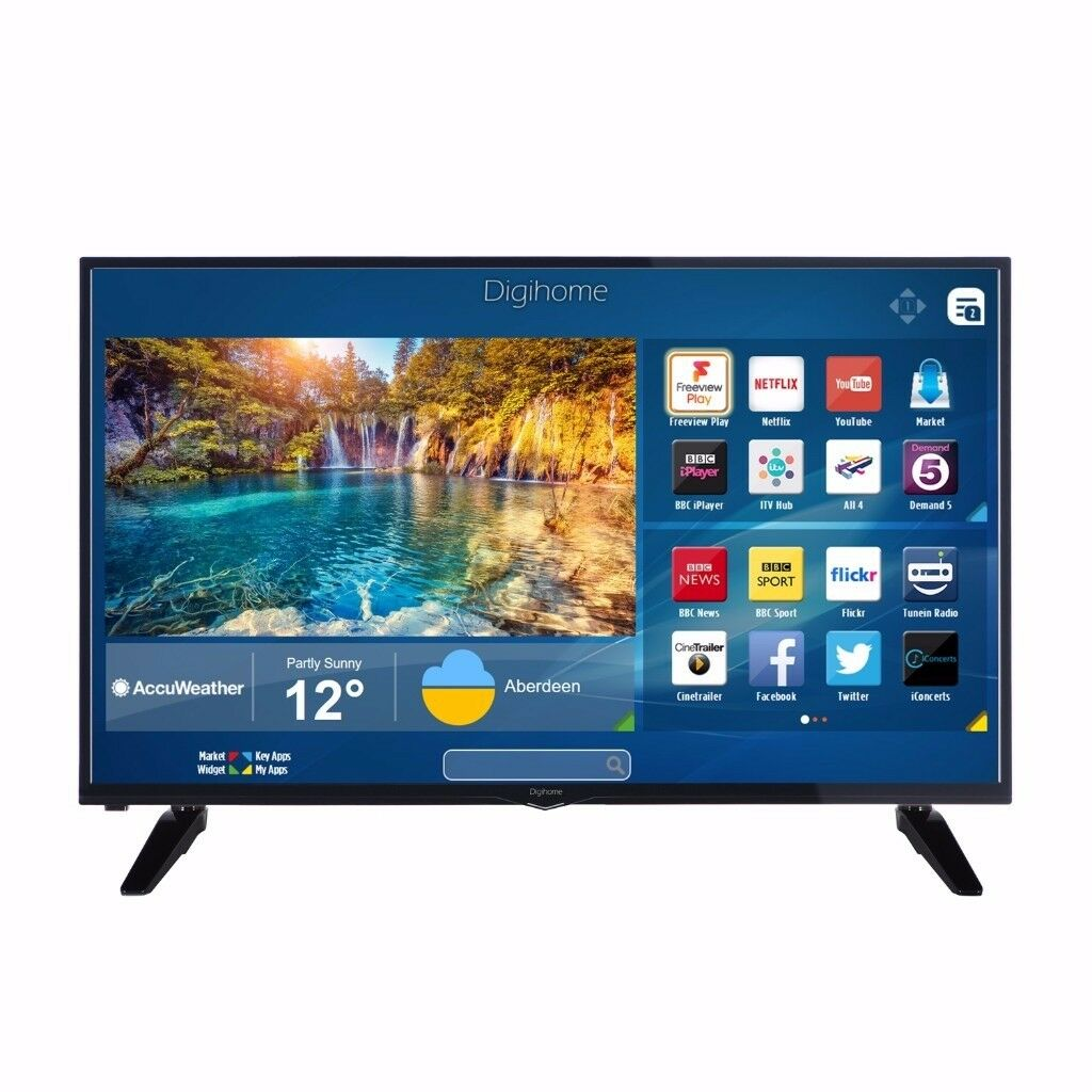 For Parts (New Screen Required) - Digihome 48 Inch Smart TV - With Freeview HD - Open To Offers