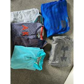 Boys clothes bundle 12-13 ted Baker tops under armour hoodies yoga