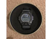 G Shock watch in Metalic