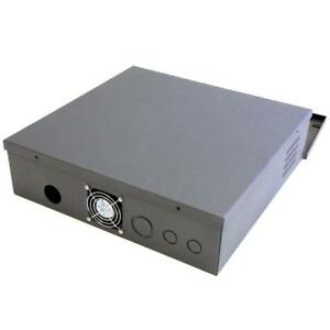 CCTV DVR LOCKBOX - 16 GAUGE STEEL SECURITY DVR LOCK BOX WITH FAN $129.99