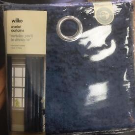 Brand new eyelet curtains
