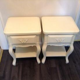 Bedside Tables x2 (will sell separately £35 each)
