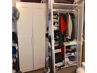White Ikea Wardrobe