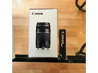 Brand new Canon EF 75-300mm f/4-5.6 III Lens - (Boxed)