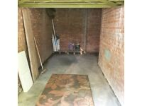 Gone now. Nice clean, locked garage to rent on quiet complex of flats