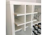 Wine Rack Insert For Ikea Kallax / Expedit Storage Unit Bottle Holder White
