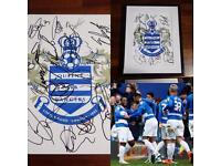 QPR signed photo 14/15