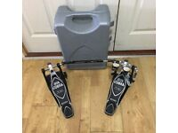 Refurbished Tama Iron Cobra Double Pedal with Case