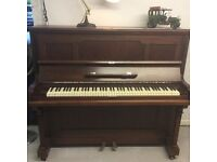 Mickleburgh Overstrung Upright Piano - DELIVERY AVAILABLE