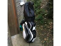 Powakaddy cart used and new trolley bag