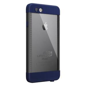 LifeProof iPhone 6 Case, Nuud Series, Night Dive Blue (Dark Gray/Dark Blue )