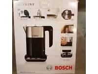 Bosch 1.5l Electric Styline Jug Kettle- Black