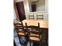 SOLD Table and chairs for sale SOLD