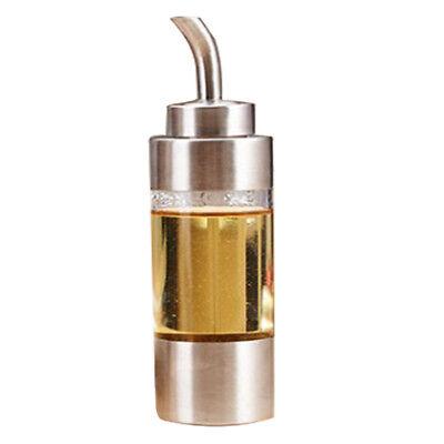 Olive Oil 250ml Bottle (Olive Oil Dispenser Soy Sauce Pot Dust-proof Leak-proof Cruet Bottle)