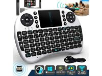 Mini 2.4GHz i8 Wireless Keyboard Air Mouse Touch pad for PS3 Pad PC TV BOX