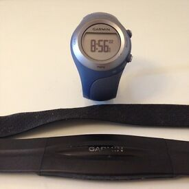 Garmin Forerunner 405 CX Sports Watch,Heart Rate Body Strap and charger