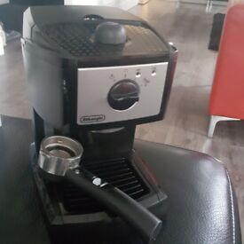 DeLonghi coffee machine for sale.