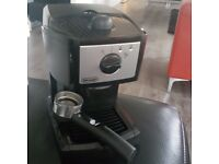 DeLonghi coffee machine for sale.