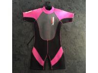 "Nalu shortie wetsuit - child's 30"" pink"