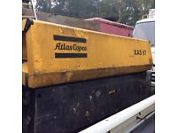 Atlas copco diesel air compressor