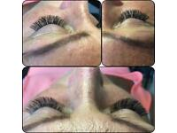 Professional eyelash extension/manicure/pedicure