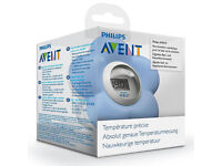 2 x NEW unused Philips Avent Baby Bath / Room Flower Thermometer SCH550/20