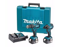 Makita DK18005 18V LXT Cordless Kit (2 Pieces) brand new never been used