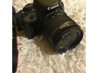 Canon Camera DSLR EOS100d with lens tiny chip