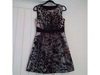 KAREN MILLEN DRESS, size 12, beautiful and flattering