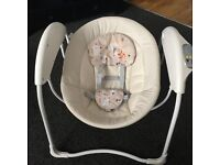 Graco glider baby swing chair