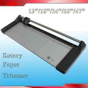 """5 Size 14"""" 18"""" 24"""" 34"""" 48"""" Manual Sharp Rotary Paper Trimmer Cutter"""