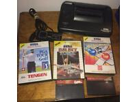 Sega master system 2 sonic built in