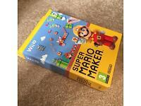 Super Mario Maker inc Artbook boxset Wii U