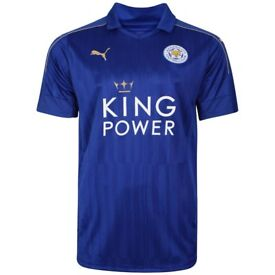 LEICESTER CITY SHIRT MENS X LARGE £16.00 NEW