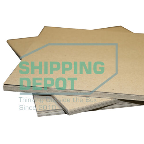 """100 8.5x11 Chipboard Pads EXTRA THICK 50PT .050 Scrapbook Sheets 8.5""""x11"""""""