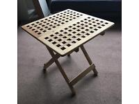 Wooden Foldable Table IKEA SKOGHALL