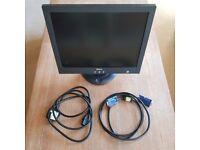 "Dell 15"" Flat Screen Monitor"